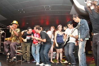 Mestre Laurentino e Jam session com produtores/ músicos paraenses.