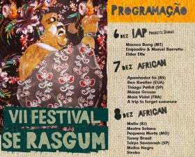 Cartaz VII Festival Se Rasgum