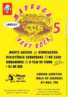 V MADRUGA FEST ROCK